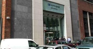 S&P said that an attempt to sell Dublin-based Depfa Bank might not succeed. Photograph: Cyril Byrne