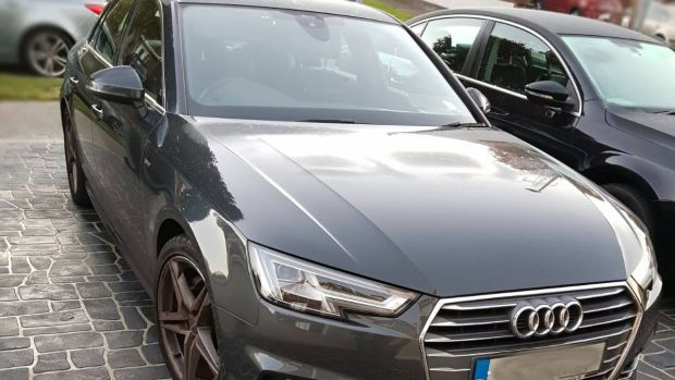 An Audi seized by Cab. Photograph: An Garda Síochána