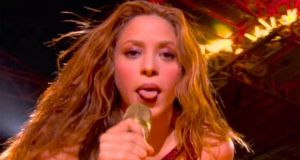 Shakira's Super Bowl zaghrouta has gone viral