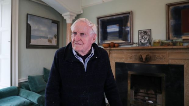 John Boorman at home in Wicklow. Photograph: Nick Bradshaw