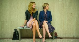Waiting for Oscar. Laura Dern (left) and Scarlett Johansson in Noah Baumbach's film Marriage Story. Photograph: Netflix