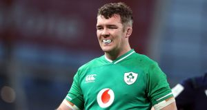 Peter O'Mahony is in line to resume in the Irish backrow against Wales. Photograph: Niall Carson/PA