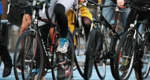 Ahead of the general election, are the parties mentioning the merits of cycling in their manifestos? And what exactly are they promising?  File photograph: Nick Bradshaw/The Irish Times.