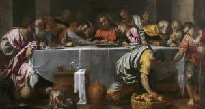 The Last Supper by Agostino Carracci that hangs in the  Museo del Prado, Madrid. Photograph: Fine Art Images/ Heritage Images/ Getty Images