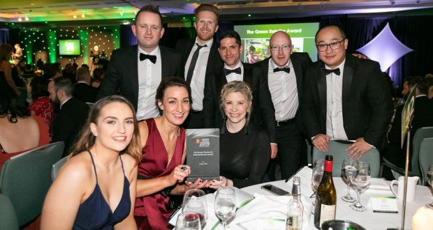 Celebrations at the Green Awards 2019