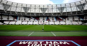 West Ham have confirmed plans to install two new tiers of seats closer to their London Stadium pitch. Photograph: Justin Setterfield/Getty