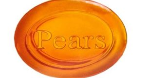 Pears soap  original aroma was  mildly spicy, clean, with a hint of thyme