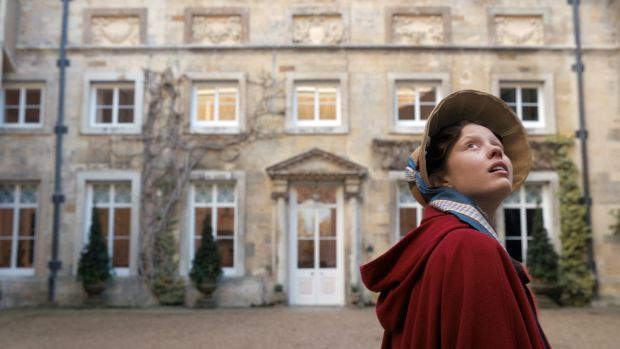 Mia Goth stars as Harriet Smith in director Autumn de Wilde's Emma. Photograph: Focus Features