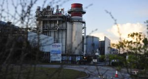 Energia is building a plant at Huntstown in Dublin (above) designed to convert organic waste to gas