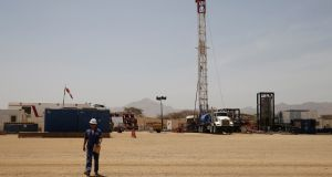 A Tullow Oil facility in Kenya.