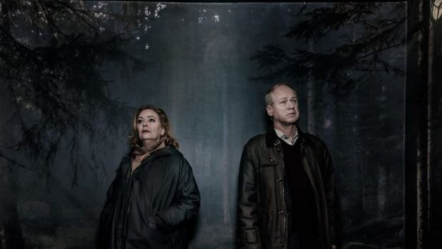Ia Langhammer and Robert Gustafsson in The Truth Will Out