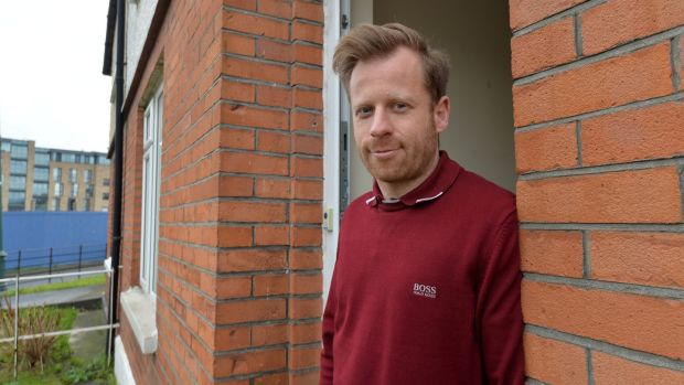 Liberties resident Andrew Clarke: 'There is more employment in the area and there are more other businesses opening.' Photograph: Alan Betson/The Irish Times