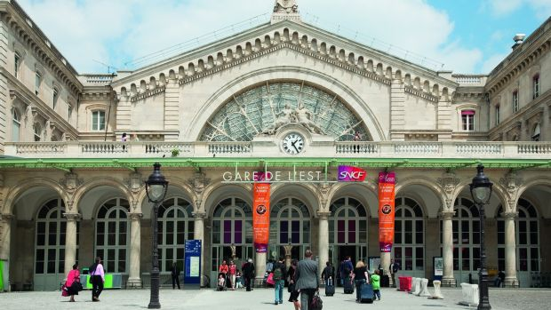 Gare de l'Est railway station in Paris. Photograph: Amélie Dupont/Paris Tourist Office