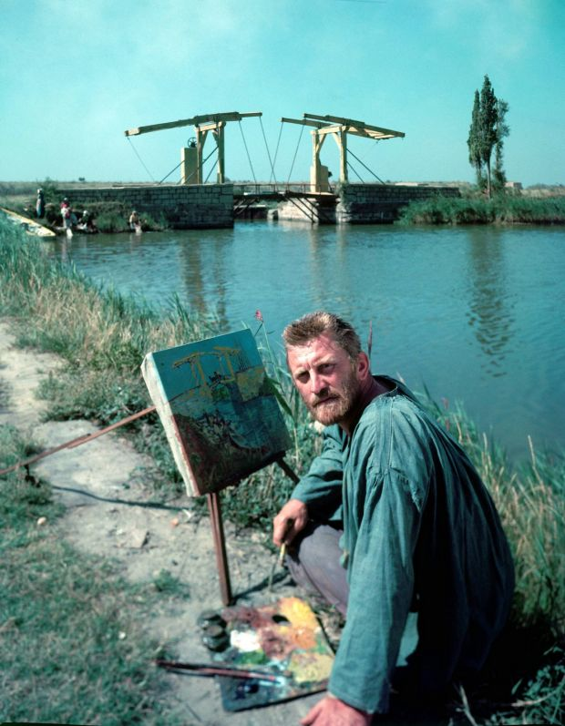 Kirk Douglas as Vincent Van Gogh in Vincente Minnelli's 1956 film Lust for Life