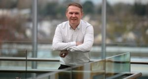 Cormac Barry, chief executive of CarTrawler: the company currently has about 100 airlines and 2,500 online travel brand partners on its books. Photograph: Dara Mac Dónaill