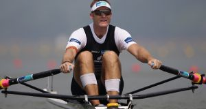 New Zealand have chosen Mahe Drysdale (41) as their single sculler for their World Cup campaign in this Olympic year. Photograph:  Chung Sung-Jun/Getty Images