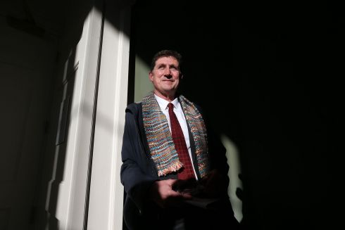 GREEN SHOOT:  Green Party leader Eamon Ryan at a party press conference. Photograph: Nick Bradshaw/The Irish Times