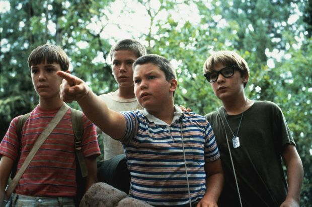 Stand By Me: Corey Feldman (right) with Wil Wheaton, River Phoenix and Jerry O'Connell in Rob Reiner's film