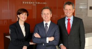 Pictured (left to right): Maura Connolly, Head of Dispute Resolution; Paul Dempsey, Dispute Resolution Partner; Mark Walsh, Managing Partner