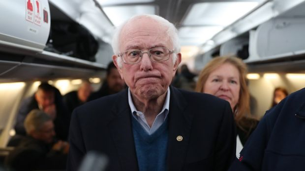 Bernie Sanders. Photograph: Joe Raedle/Getty Images