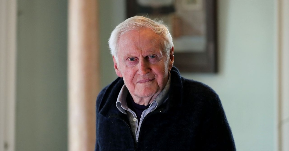 John Boorman at his home in Wickl;ow. Photograph: Nick Bradshaw/The Irish Times