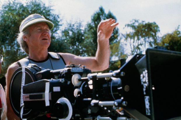 Director John Boorman on the set of his film Hope and Glory. Photograph: Murray Close/Sygma/Getty Images