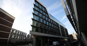 The 300-bedroom Marlin Hotel on Bow Lane East in Dublin 2 is one of several large new establishments being constructed in the centre of the city. Photograph: Nick Bradshaw