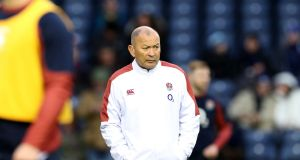 England's head coach Eddie Jones before the Six Nations meeting with Scotland. Photo: Billy Stickland/Inpho