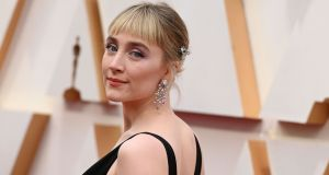 Saoirse Ronan arrives for the 92nd Oscars at the Dolby Theatre in Hollywood. Photograph: Robyn Beck/AFP/Getty Images)