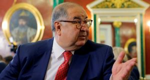 "Alisher Usmanov: ""This manuscript is the manifesto for the modern Olympic Games. I believe that the Olympic Museum is the most appropriate place to keep this priceless manuscript."" Photograph: Maxim Shemetov/Reuters"