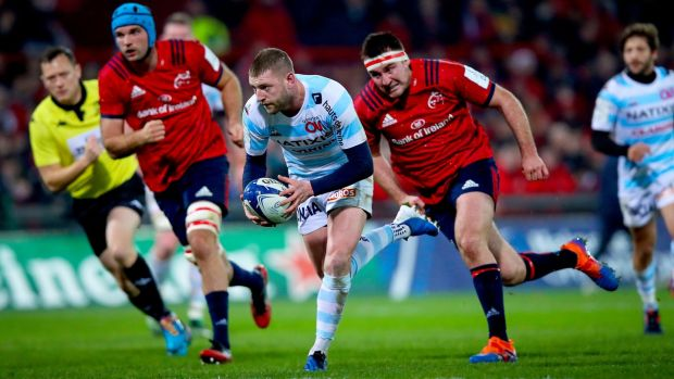 Finn Russell in action for Racing 92 against Munster last year. Photograph: Tommy Dickson/Inpho