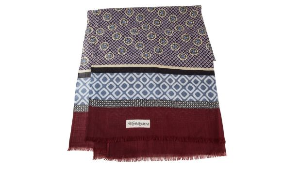 Lot 176 6, Yves Saint Laurent wool scarf (€100–€120) at O'Reilly's