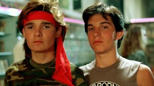 Vintage cheese: Corey Feldman and Jamison Newlander  in the The Lost Boys