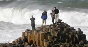 Tourism NI chief executive John McGrillen says there has been a reduction of more than 20 per cent in the number of people from the Republic visiting major tourist attractions like the Giant's Causeway and Titanic Belfast. Photograph:  Peter Muhly/AFP/Getty Images