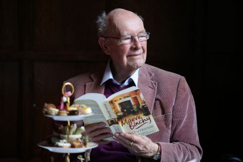 Gordon Snell, who was married to author Maeve Binchy for 35 years. The Gaiety Theatre hosted a special afternoon tea to celebrate friendship and mark the launch of the world premiere stage adaptation of Maeve Binchy's Circle of Friends. Photograph: Nick Bradshaw
