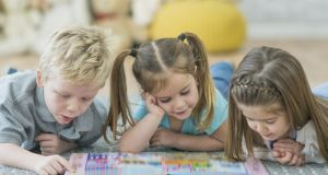 Most adults believe education for under-fives is as important for children over the age of five. Photograph: Getty Images