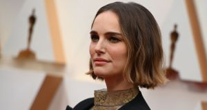 Natalie Portman: 'I agree with Ms McGowan that it is inaccurate to call me 'brave' for wearing a garment with women's names on it'. Photograph: Robyn Beck/AFP via Getty