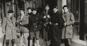 File image of RIC cadets in Dublin. File photograph: Bettmann Archive/Getty Images