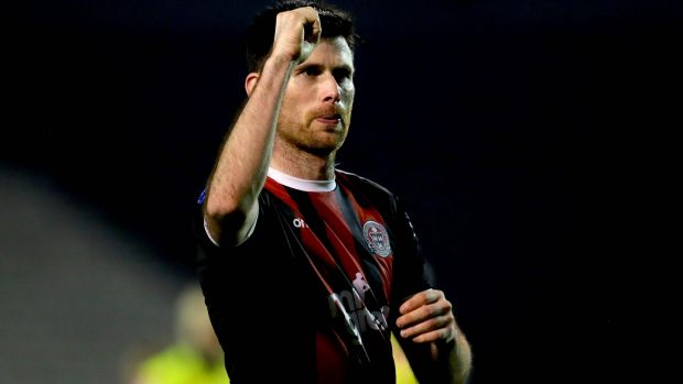 Dinny Corcoran's goals could be very important for Bohs. Photograph: Ryan Byrne/Inpho