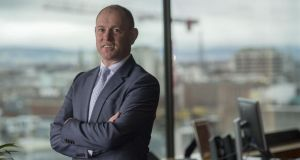 Irish Life chief executive David Harney is moving role after four years in charge. Photograph: Brenda Fitzsimons