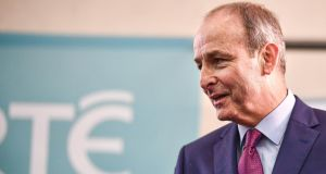 "Micheál Martin of Fianna Fáil: ""The economic platform Sinn Féin put forward before the election was irreconcilable with Fianna Fáil's, particularly on the enterprise agenda and also in terms of financial sustainability."" Photograph: Jeff J Mitchell/Getty"