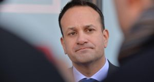 Taoiseach Leo Varadkar largely stayed above the fray this week, but that won't last much longer. Photograph: Alan Betson