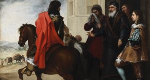 The Departure of the Prodigal Son. Courtesy National Gallery of Ireland