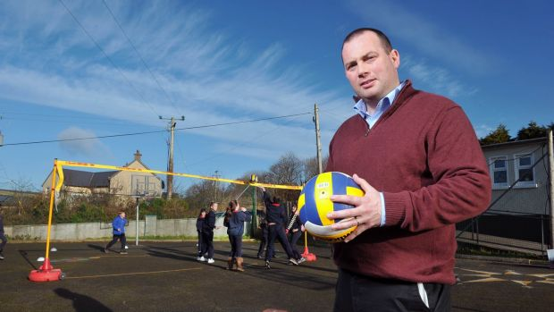 "Eoin Fitzpatrick: ""There is a lot less informal play out in estates and parks. Before, kids were jumping over fences and hedges. Now you have to teach those skills specifically to kids."" Photograph: Daragh Mc Sweeney/Provision"