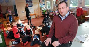 Eoin Fitzpatrick, principal of Bunscoil Chríost Rí in Cork: movement breaks are vital for school children. Photograph: Daragh Mc Sweeney/Provision