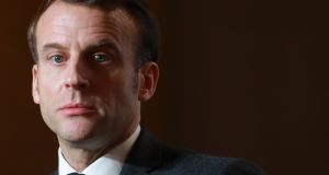 Ironically, Macron's internal problems are mounting just at the point where some of his signature policies are starting to show clear signs of success. Photograph: Ludovic Marin/AFP via Getty Images