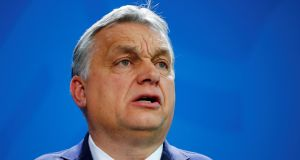 Hungarian prime minister Viktor Orban: has aimed his hard-line policies at migrants, the homeless, liberal NGOs and the Soros-funded Central European University.  Photograph: Hannibal Hanschke