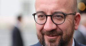 European Council president Charles Michel. Photograph: Ludovic Marin/AFP/Getty Images