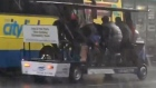 Video of Dublin party bike group battling through Storm Dennis goes viral