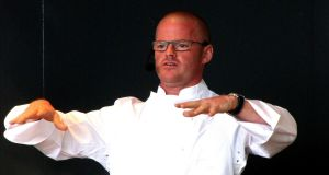 The Dublin company, Bacon & Egg Ice Cream Ltd,  is named after one of Heston Blumenthal's (above) signature recipes